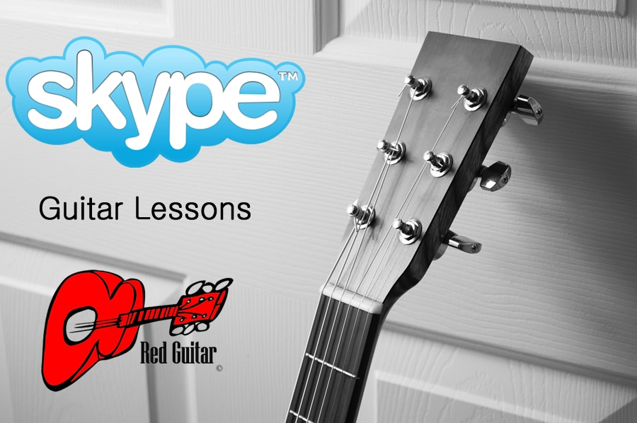 skype guitar lessons header